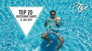 TOP 20 DEUTSCHRAP SINGLE CHARTS - 8. JULI 2017