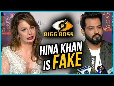 Manu Punjabi & Nitibha Kaul Call Hina Khan FAKE   Bigg Boss 11