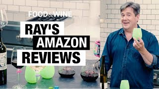 Ray Isle Tests Weird Amazon Wine Gadgets | Bottle Service | Food & Wine