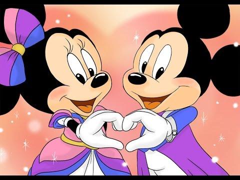 Minnie E Mickey Fazendo Um Coracao Casa Do Mickey Mouse Youtube