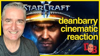 StarCraft 2 - Wings of Liberty - Intro Cinematic REACTION