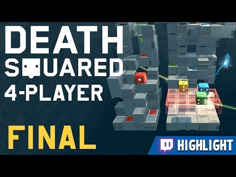 Death Squared - #5 - The FINAL LEVEL! [Twitch Highlight]