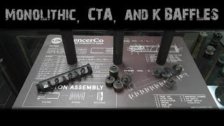 Monolithic, CTA, and K Baffle Systems