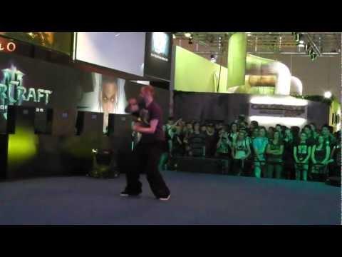 Gamescom 2011  - WoW dance contest   Top 5 (HD)