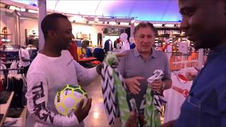 SOWORE , the Magician and Nigerian World cup jersey