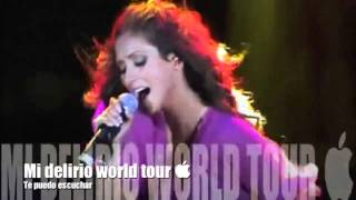 Anahí Mi Delírio World Tour Chile 2009 HD.
