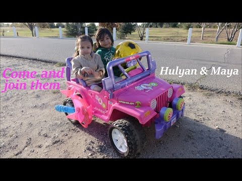 Fisher Price's Ride-On Power Wheels - A Pink Jeep Wrangler Barbie Edition
