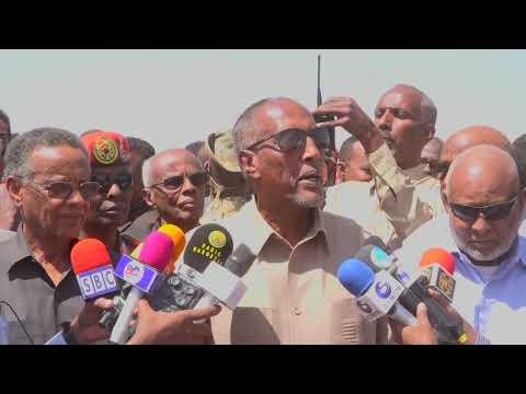 Madaxweynaha Somaliland oo ka qaybgalay kana Hadlay aas Qaran oo loo sameeyey Taliye Fadal