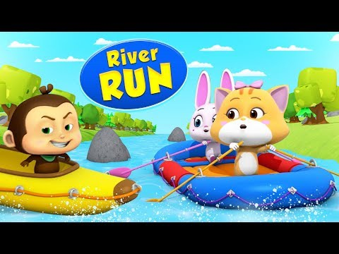 River Run | Cartoons For Kids | Fun With Loco Nuts | Kids Show