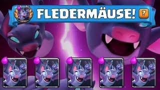 FLEDERMÄUSE SIND DA! || CLASH ROYALE || Let