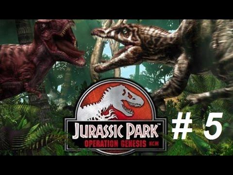 jurassic park og 5 rendons lle au dinosaure