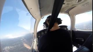 Bankstown to Cessnock First Solo Navigation in a Piper Warrior VH-IJK