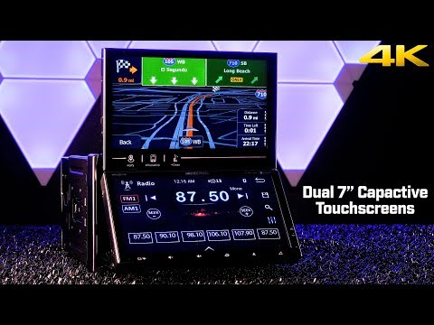 "Soundstream VRN-DD7HB - Dual 7"" Capacitive Touchscreen Double DIN Stereo"