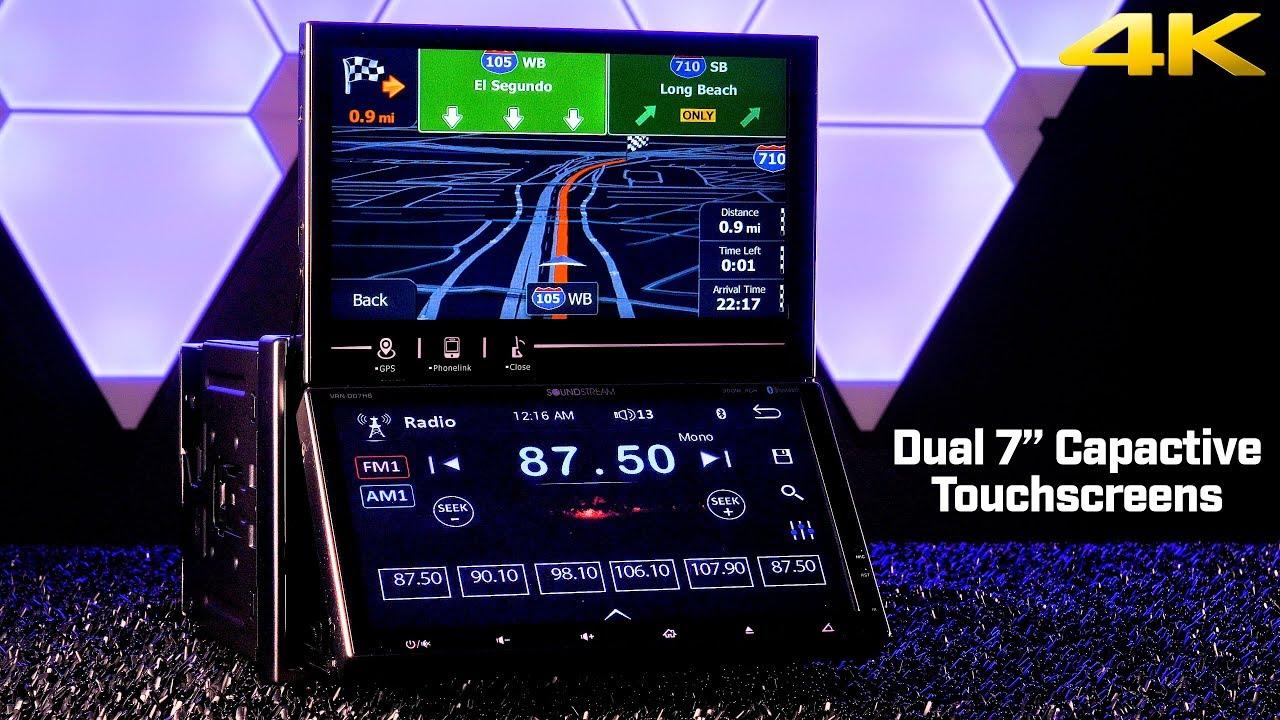 Soundstream VRN-DD7HB Double DIN Dual 7