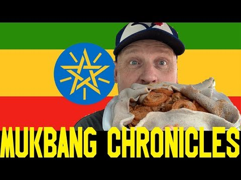 My First Time Trying AUTHENTIC ETHIOPIAN FOOD | MUKBANG |
