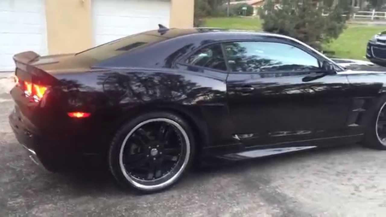 2013 Camaro Custom Youtube