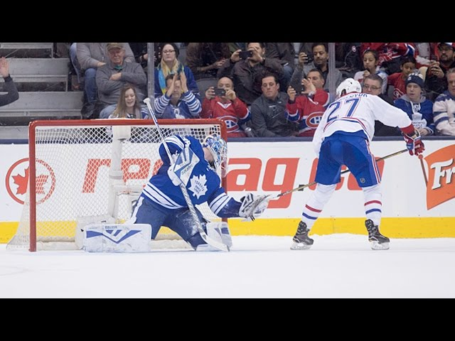 Shootout: Canadiens vs Maple Leafs
