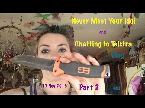 Never Meet Your Idol & Chatting With Telstra 17th Nov - Vlog Part 2