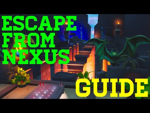 How To Complete Escape From Nexus By Ritual - Fortnite Creative Guide