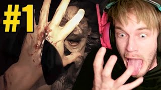 Resident Evil 7: Biohazard - Gameplay - Part 1 - IT'S FRICKIN' TERRIFYING!
