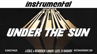 Dreamville - Under The Sun ft. J. Cole, Kendrick Lamar, Lute & Dababy (INSTRUMENTAL) *reprod*