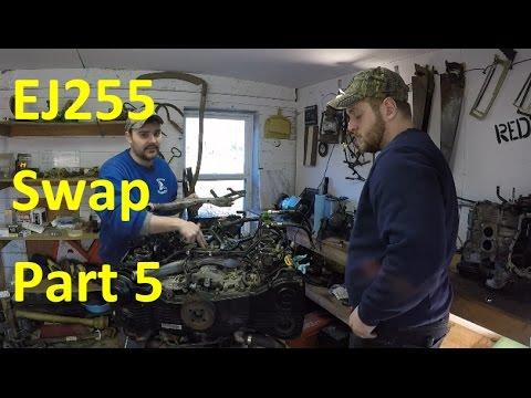 EJ255 DOHC Engine Swap | Subaru Outback XT Part 5