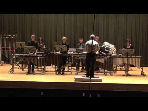 Campbell County High School Percussion Ensemble, Albert Ellmenreich, Frantz Schubert, Claude Debussy