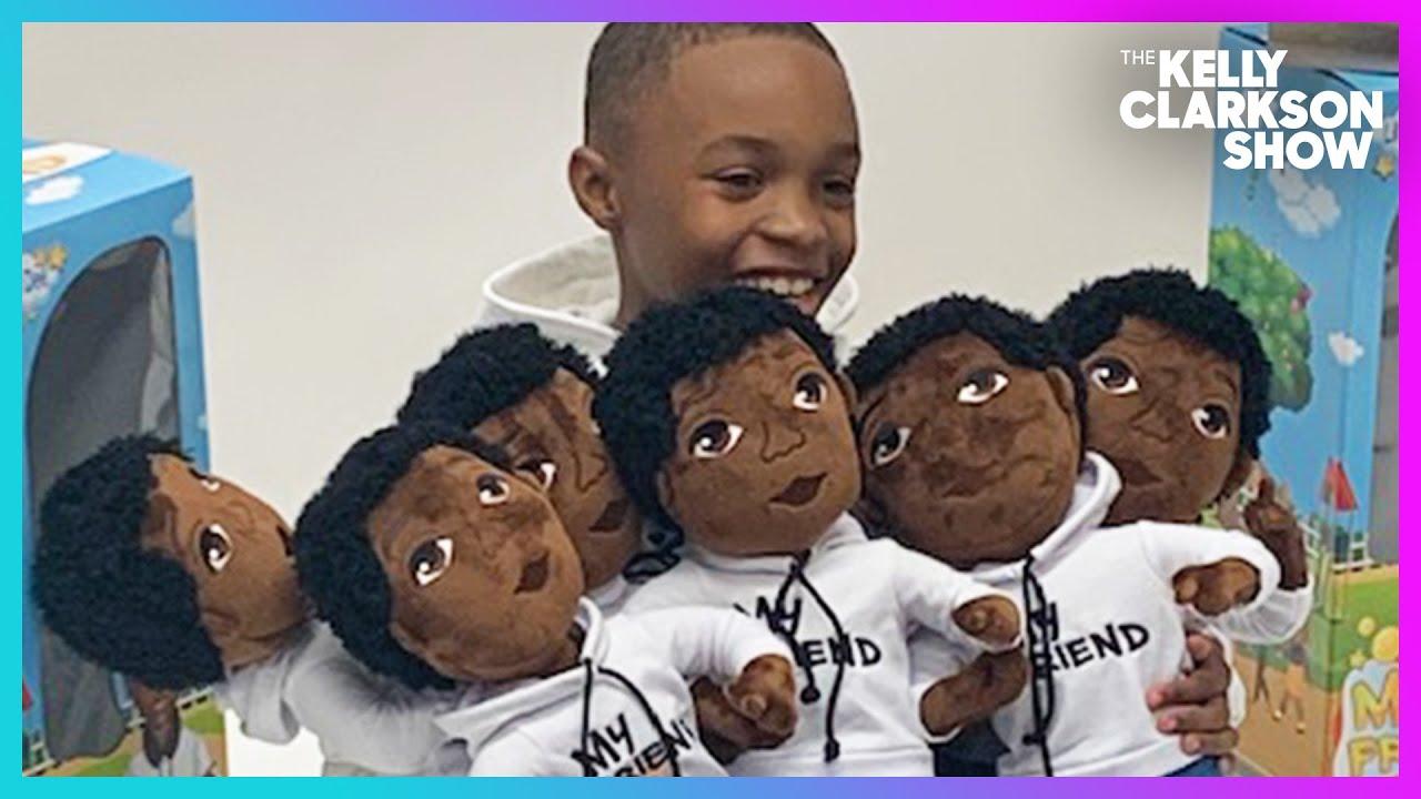 Meet The 8-Year-Old CEO Bringing Joy To Black Boys Through Toys