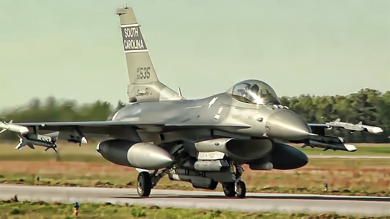 South Carolina Air National Guard F-16 Swamp Fox Fighter Squadron
