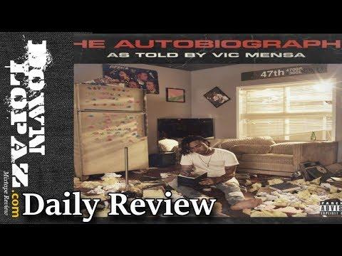 Vic Mensa - Wings ft. Pharrell   Review
