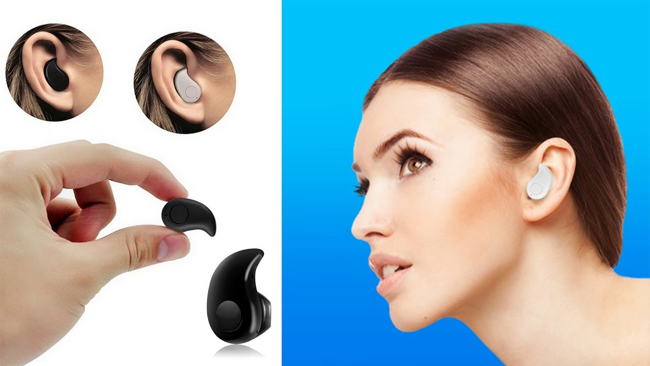 Handsfree Bluetooth Mini Mungil Pas Di Telinga Tanpa Catok Youtube