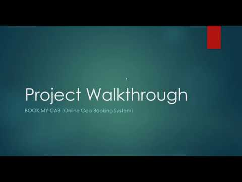 Book My Cab - MEAN Stack Project Walkthrough