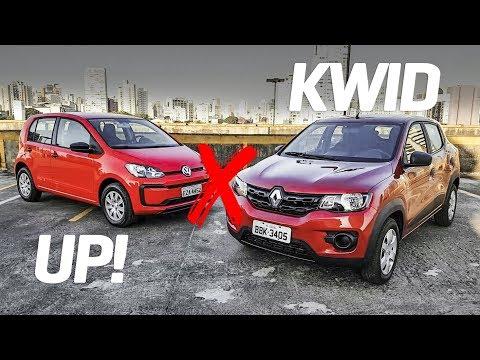 Renault Kwid encara o Volkswagen Up!