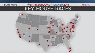 CBS News poll: Women say Trump a factor in 2018 vote
