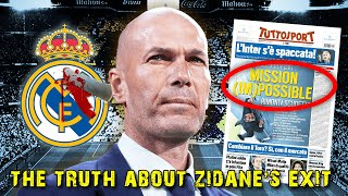 Zinedine Zidane Opens Up About Madrid Exit...