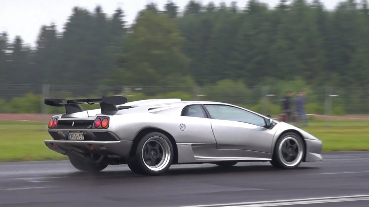 Lamborghini Diablo Sv Acceleration Sounds Youtube