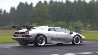 Lamborghini Diablo SV - Acceleration Sounds!