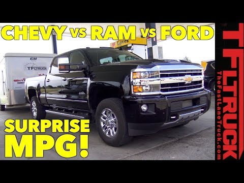 MPG Challenge: Silverado Duramax vs Cummins vs Power Stroke