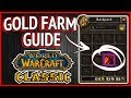 Classic WoW - Gold Farm Guide - For Low Levels