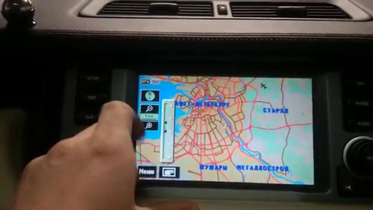 Навигационная карты для Nissan Infiniti 2007/2010 года для систем с DVD приводом (DENSO) Xanavi.ru