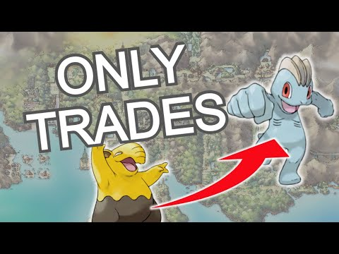Can You Beat Pokemon Silver Using Only IN GAME TRADES? - NO ITEMS CHALLENGE