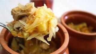 Рецепты в горшочках с курицей картошкой и капустой