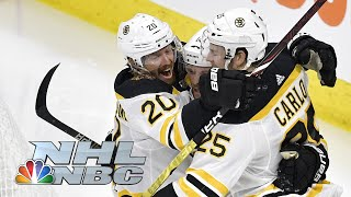 NHL Stanley Cup Playoffs 2019: Bruins vs. Hurricanes | Game 3 Extended Highlights | NBC Sports