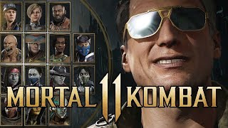Johnny Cage Announcer Voice Pack: Character Select Intros - Mortal Kombat 11