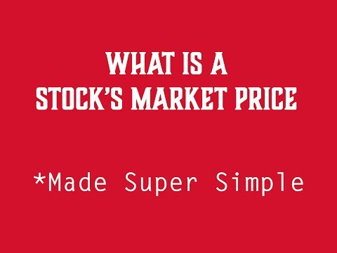 What is a stock's Market Price