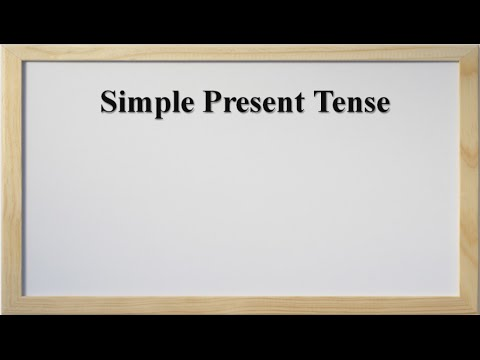 Tenses - Simple Present ( In Hindi and English)