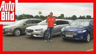 Opel Insignia Sports Tourer (2017) vs. Skoda Superb Combi und Ford Mondeo