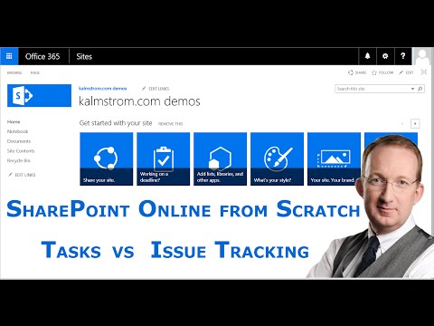 sharepoint-tasks-or-issue-tracking-list---sharepoint-online-from-scratch