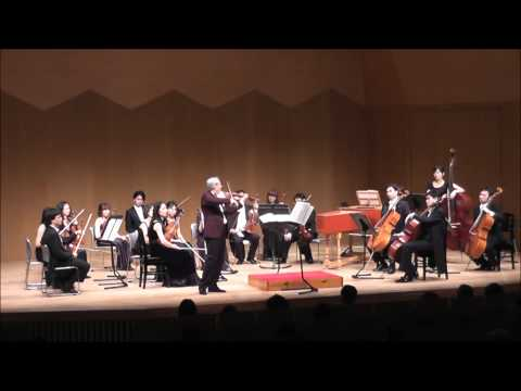 無伴奏ヴァイオリンソナタ第1番 BWV1001 アダージョ