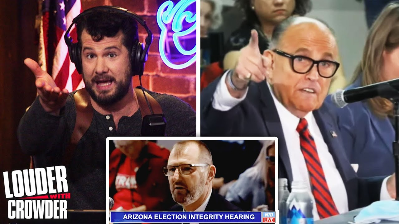 SCAM: Arizona Election Fraud Testimony | Good Morning #MugClub - download from YouTube for free